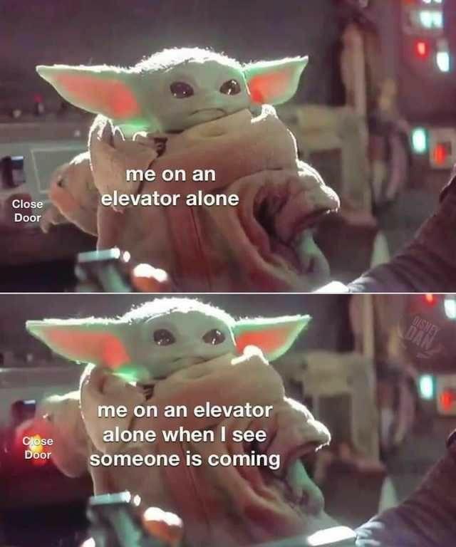 Pin By Miranda Jenkins On Baby Yoda Memes Yoda Meme Yoda Funny Star Wars Jokes