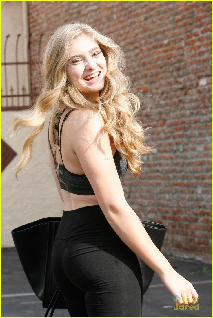 Willow Shields Meets Up With Mark Ballas At Dance Studio for 'DWTS' Practice