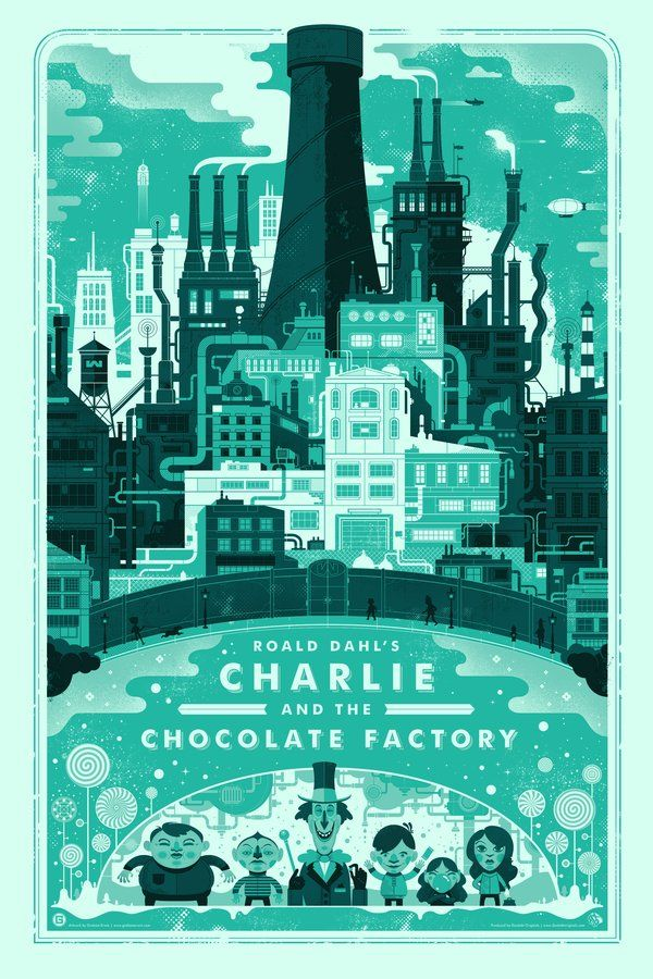 Charlie And The Chocolate Factory by Graham Erwin