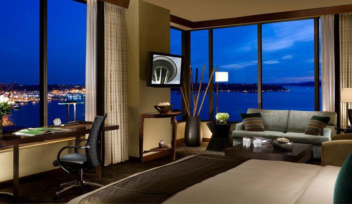 Hotel 1000, Seattle,  WA -  best room 1208