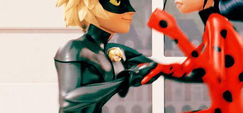 ladybug and cat noir kiss Google