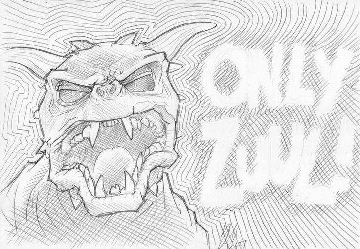 Only Zuul by lazytigerart.deviantart.com on @DeviantArt