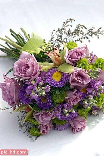 صور بوكيه ورد صور بوكيهات ورد جميلة اجمل صور بوكيه ورود Bridal Bouquet Purple Wedding Bouquets Purple Bridal Bouquet