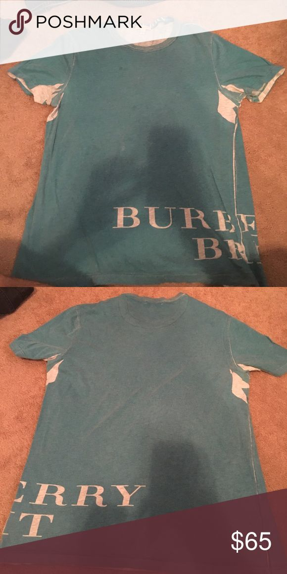 mens Burberry t shirt Slightly worm t shirt purchased from Burberry store. Burberry Shirts Tees - Short Sleeve