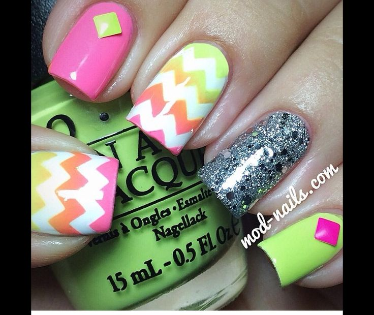 Mejores 31 imágenes de Nails en Pinterest | Nailart, Esmalte para ...
