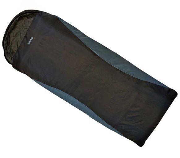 Saco de Dormir Highlander Voyager Lite Square XL.  Cómodo saco de dormir sin restringir la anchura en los pies. Una excelente calidez en relación al peso para este saco de dos/tres estaciones, ligero y compacto. Forro de microfibra de poliéster de 250Gsm y exterior de nylon ripstop resistente. Dimensiones comprimido: 36x21x21cm. Dimensiones extendido: 195(30)x90x90cm. Límite superior: 13°C Temperatura de confort: 4°C Límite inferior: -1°C Temperatura extrema: -17°C