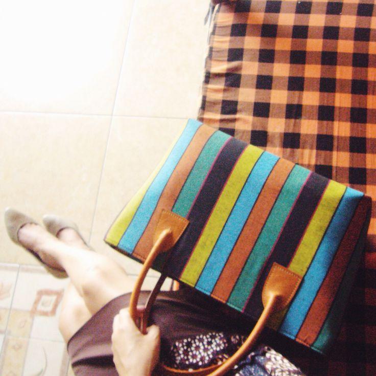 Prameswari Lurik Batik Bag #djokdjabatik