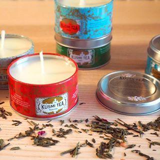 Retrouvez sur le blog le tuto pour fabriquer de jolies petites bougies avec vos botes de th vides  Dfi BoostTonQuotidien n OK diy homemade bougie bougies candle kusmitea aromazone sohohana