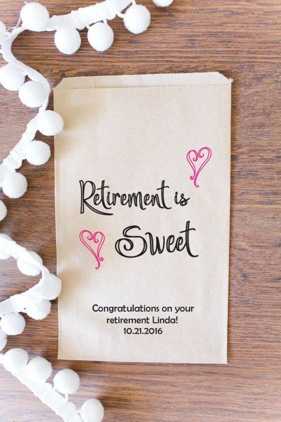 49 Best Retirement Party Favors And Ideas Images On