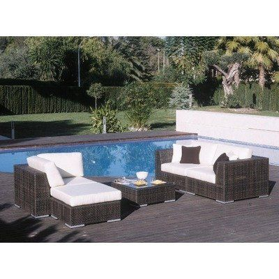 Soho 5 Piece Deep Seating Sectional with Cushions Fabric  Spectrum Cilantro  by Hospitality Rattan  Modern PatioPatio SetsOutdoor FurniturePatio. 38 best Patio Furniture   Accessories   Patio Furniture Sets