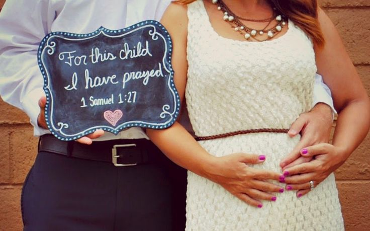 first pregnancy announcement photos we prayed he answered - Google Search