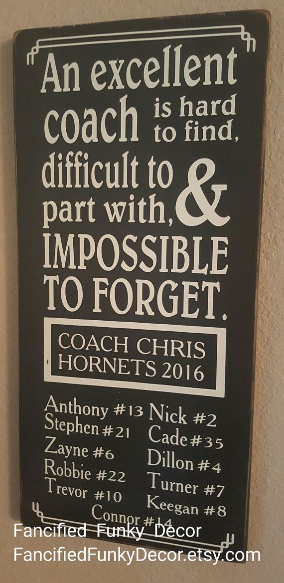 An Excellent Coach is Hard To Find Custom by FancifiedFunkyDecor