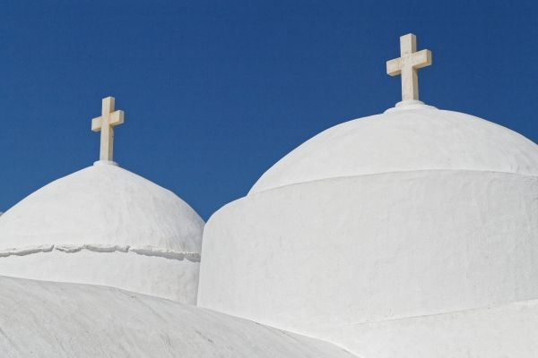Church domes in Kastro