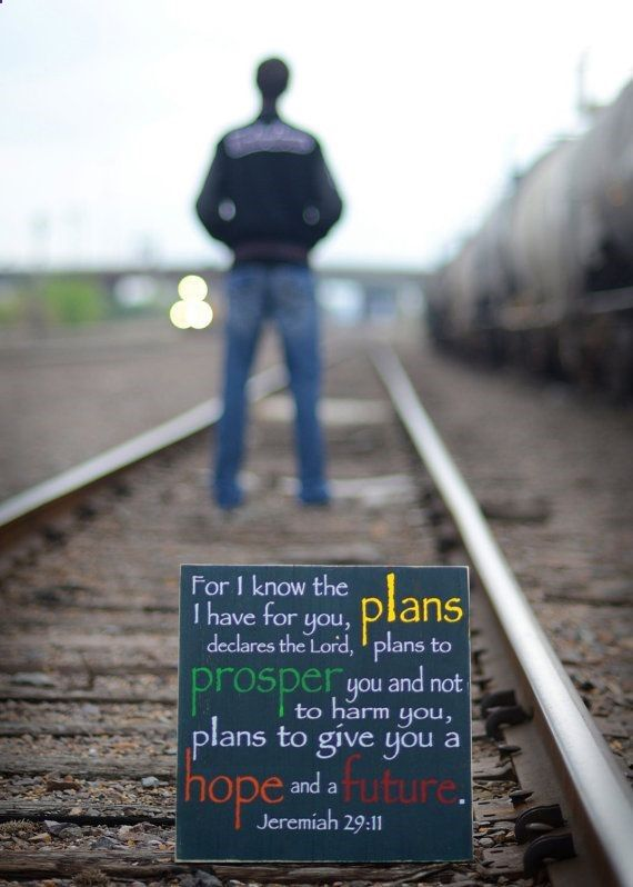 For I know the plans I have for you, declares the Lord ...