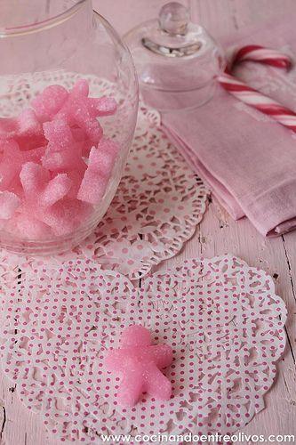 Como hacer terrones de azucar de colores