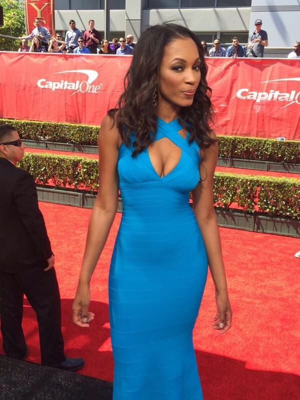 I watch ESPN for great sportscasting and Cari Champion