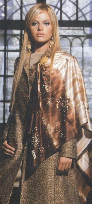 Aker Eşarp / Scarf - 2005-06 F/W #aker #scarf #esarp #hijab #fashion #silk #scarves  #moda #hijab #tesettur #model #mode #style #pattern #babushka #kerchief #shawl #wrapper #trend #aker #akeresarp #akerscarf