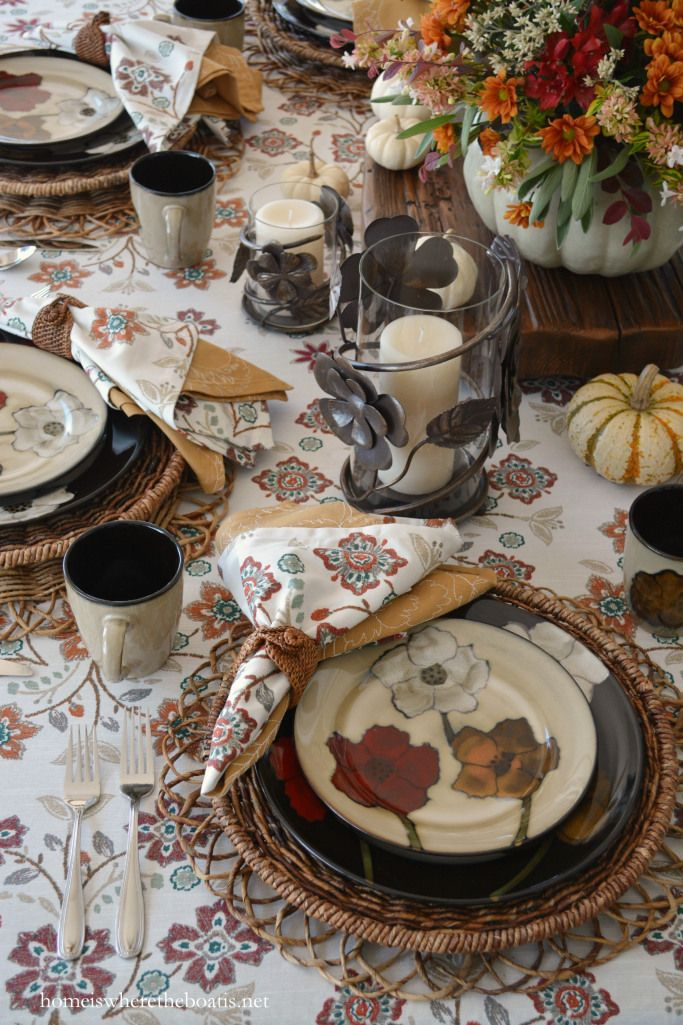 Best 200+ Fall/Thanksgiving Decor images on Pinterest | Tablescapes ...