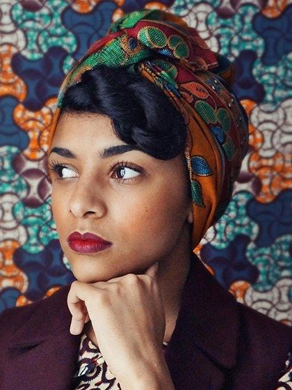 12 Ways to Wear a #HeadScarf   @alluremagazine