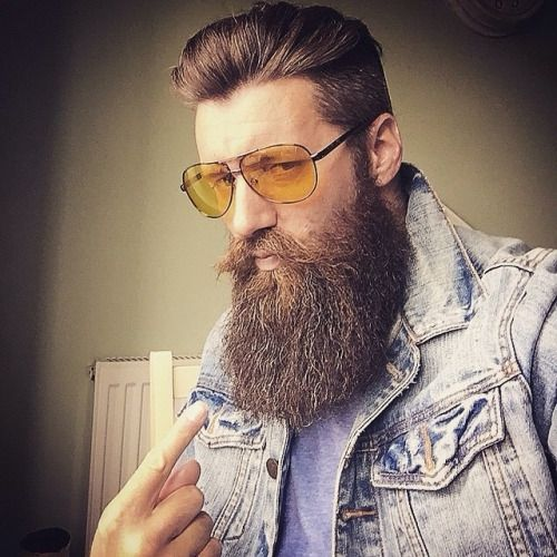 Awesome 1000 Images About Manly Beards And Mustaches On Pinterest Short Hairstyles Gunalazisus