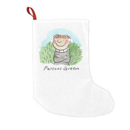 Parsons Green Small Christmas Stocking - christmas stockings merry xmas cyo family gifts presents