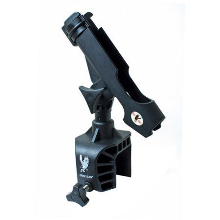Eagle Claw Deluxe Clamp-On Rod Holder, Multicolor