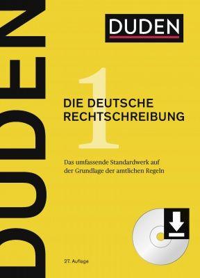 der neue duden die deutsche rechtschreibung