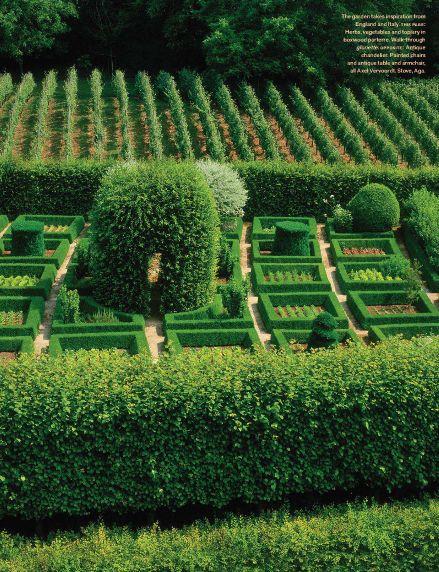 Jacques Wirtz - Axel Vervoordt's Belgian estate