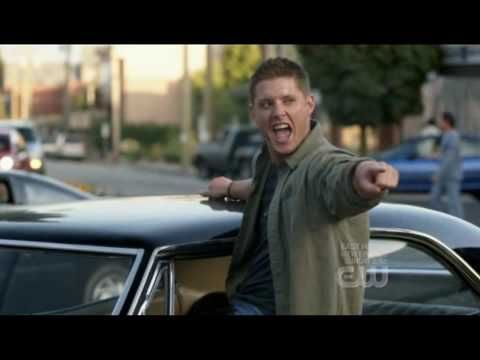 """Supernatural, Dean Winchester dance """"Eye of the Tiger"""" - YouTube"""