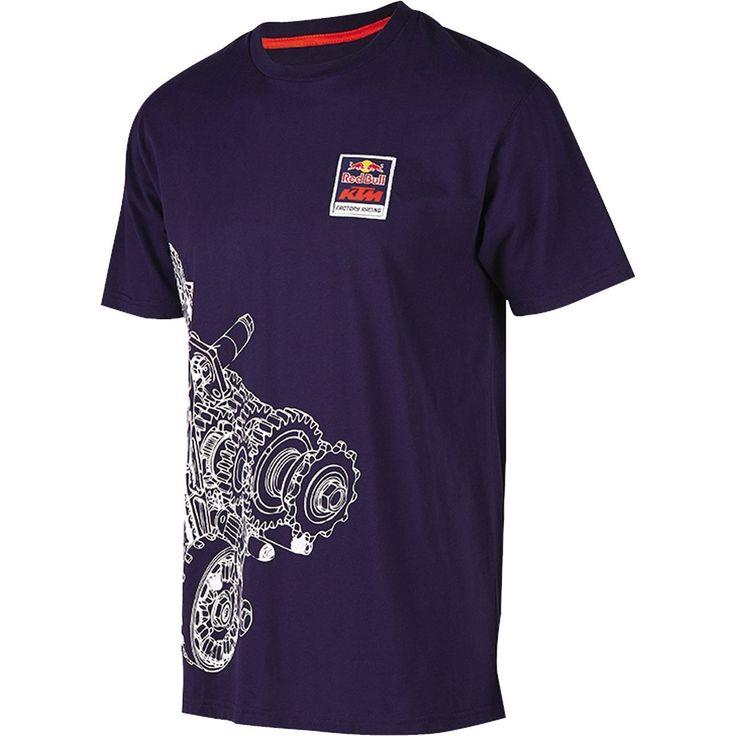 Red Bull KTM Factory Racing Engine Tee Navy