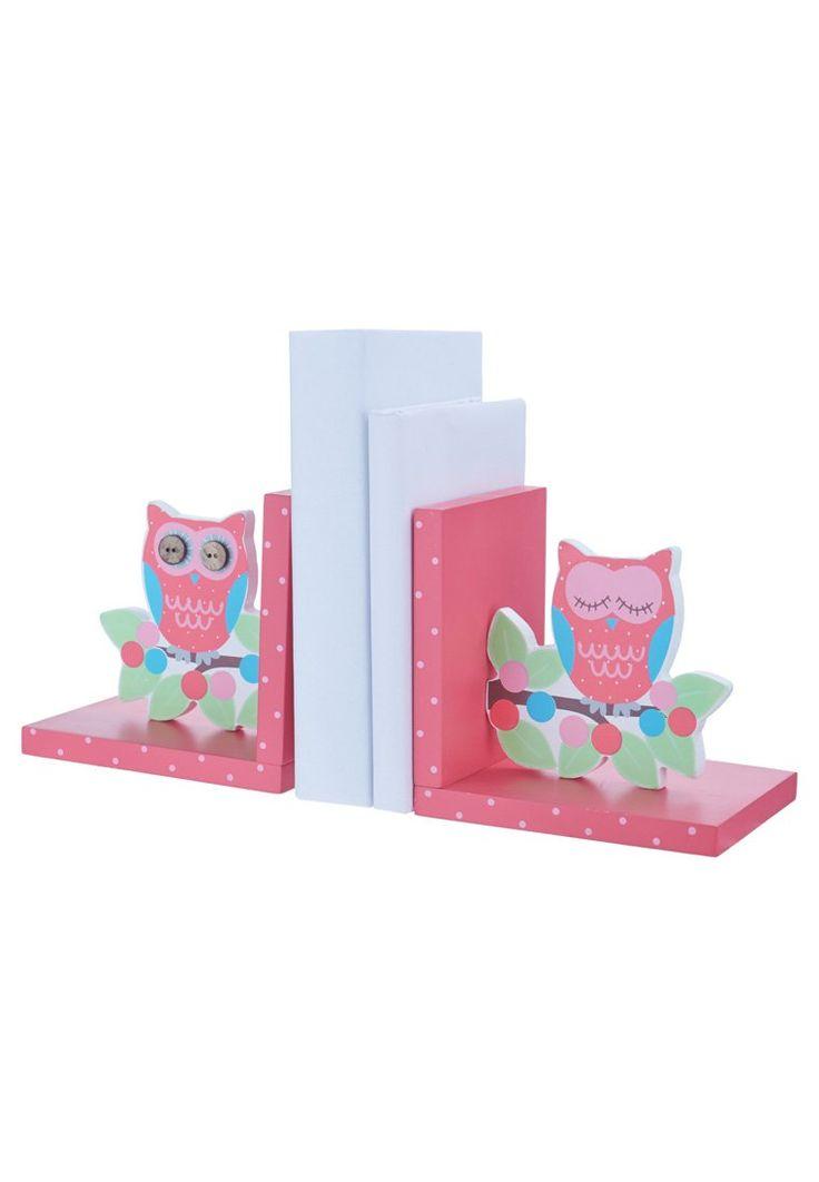 Sass & Belle PACK OF 2 - OWL AND BRANCH - Accessorio per ufficio - rosa