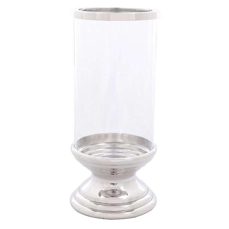 Dorma Chrome Candle Lantern   Dunelm