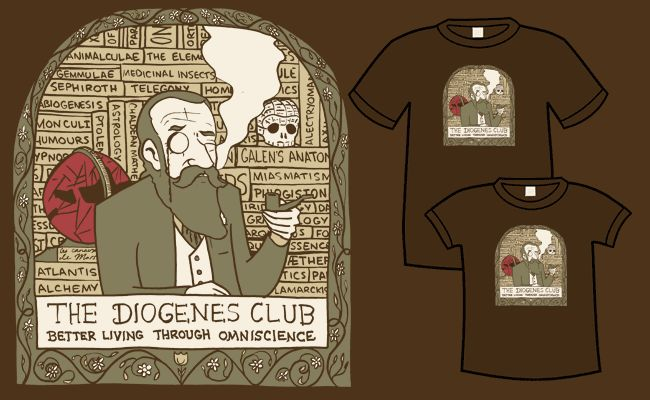 Diogenes Club shirt