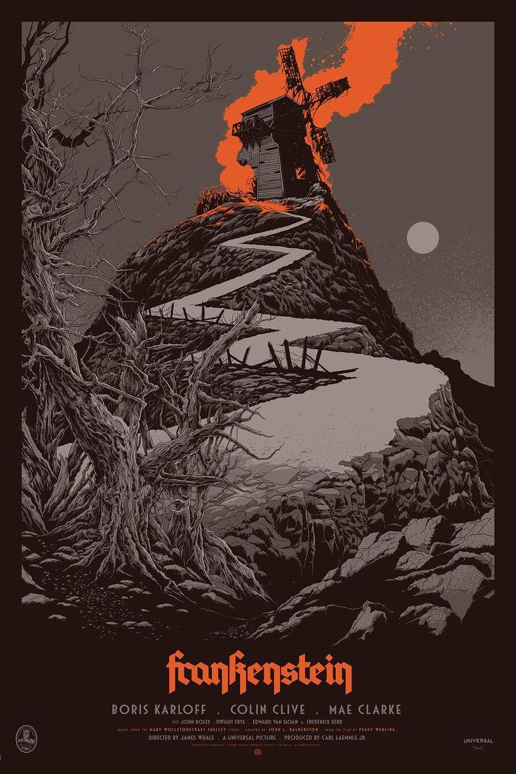Frankenstein (1931) [1333 × 2000] Ken Taylor