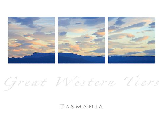 The Great Western Tiers  by desertsea