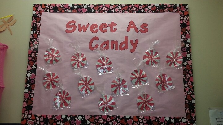 33 Best Images About Valentine Bulletin Boards On Pinterest