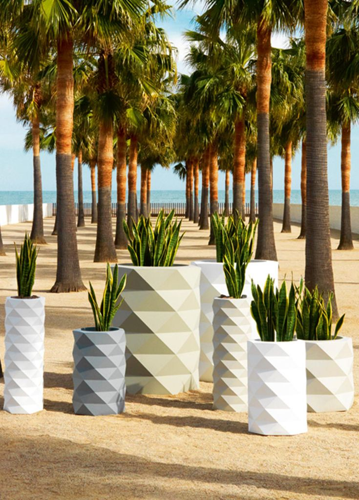 Vondom Marquis Outdoor Planters | Perfect Designs for Residential or Hospitality
