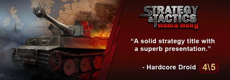 Get #Strategy & #Tactics: #WWII on Google #Play http://bit.ly/1FBTWnz !  The #game is on #sale (70% оff)!