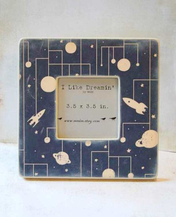 Outer Space Picture Frame by Mmim on Etsy, $17.00