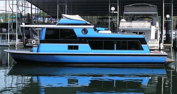 1970 40' Marinette Seacreast House Boat for Sale in Aurora, IN 47001 - iboats.com   Houseboats ...