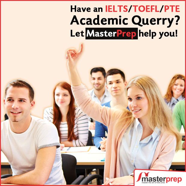 #MasterPrep expert team is there to help you in your preparation for #IELTS, #TOEFL and #PTEAcademic. Come for a FREE Session and let the best #EnglishTraining faculty clear all your doubts and guide you in the best manner. www.masterprep.in