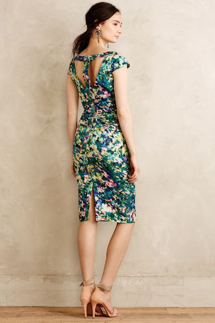 Dappled Oasis Dress - anthropologie.com