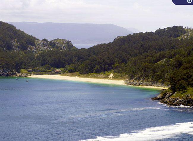 Hotel AXIS VIGO-Islas Cies Playa San Martiño - Hotel y Playa   Beach Vigo #Cies #hotel #playas #vigo