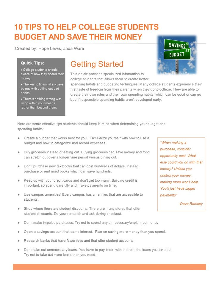 8 best 1-Page Personal Finance Project images on Pinterest
