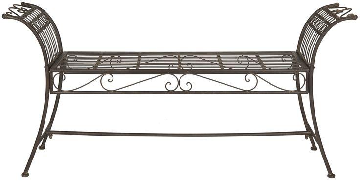 Lemieux Iron Bedroom Bench