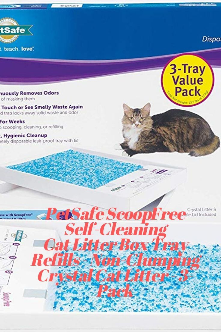 The Petsafe Scoopfree Self Cleaning Litter Box Provides Weeks Of Fresh Clean Litter Whenever Your Cat Needs It Less Time Spent Maintaining Cat Pet Supplies