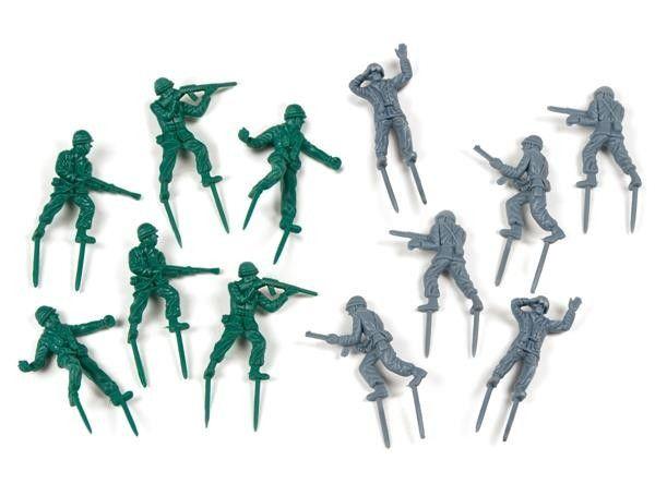 Pegador de Petiscos Soldados - 7,5 x 3 cm