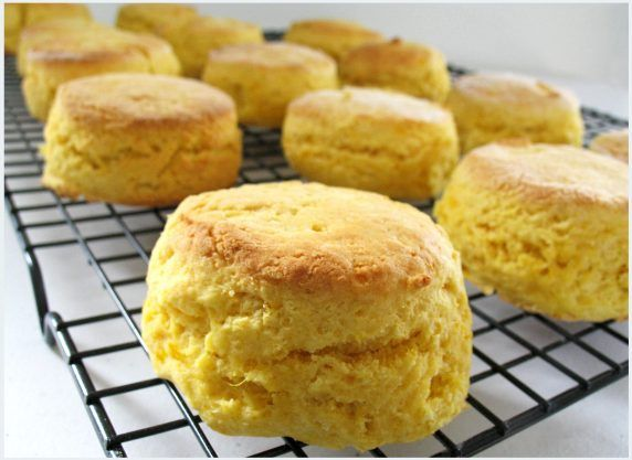 receta de scones de limon