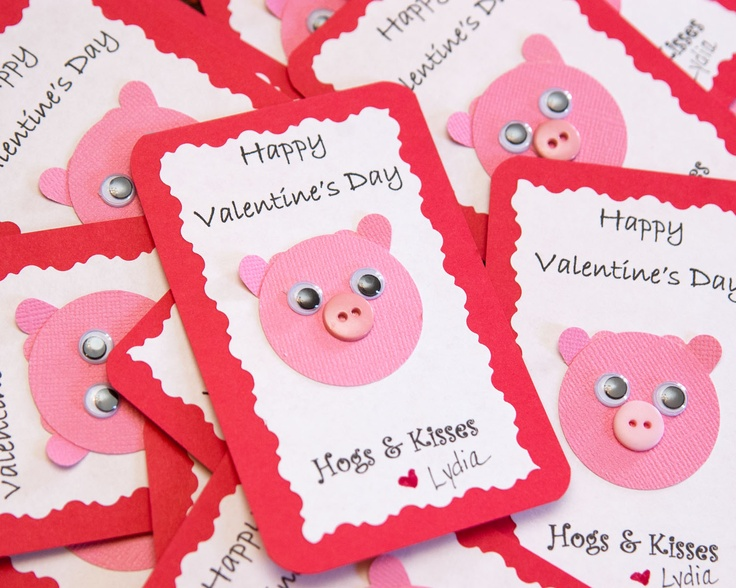 240 best images about Valentines Day – Pig Valentine Cards