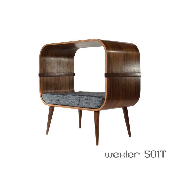 The Wexler is part of a series of cabinets that can be used as a piece of furniture or a pet bed. This model is the Wexler 501T and it is designed with an open back so you can decide where and how to use it. Ideal for cats, the Wexler will let your cat lounge below on the soft cushion or perch on the top. Set next to a window so your cat can look outside as well as bask in the sun. The cushion is made from a solid piece of medium density upholstery foam that is wrapped in batting for a very…